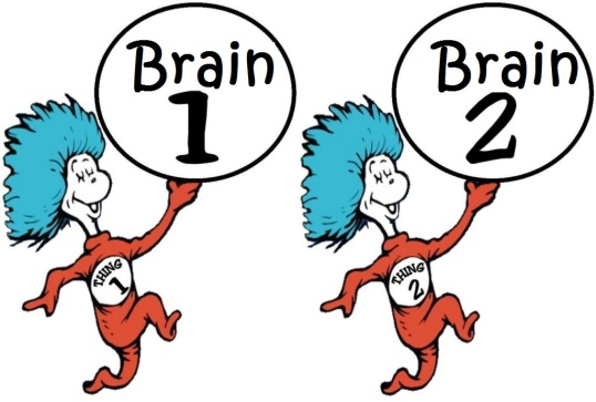 brain one and brain two